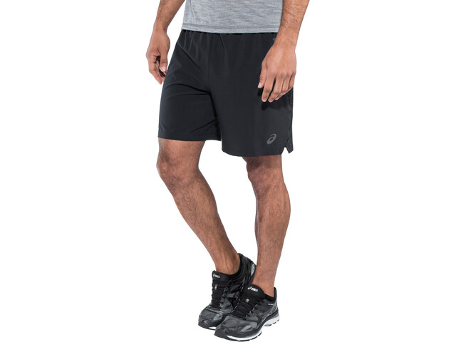 asics 2-N-1 Short running Homme, performance black/performance black